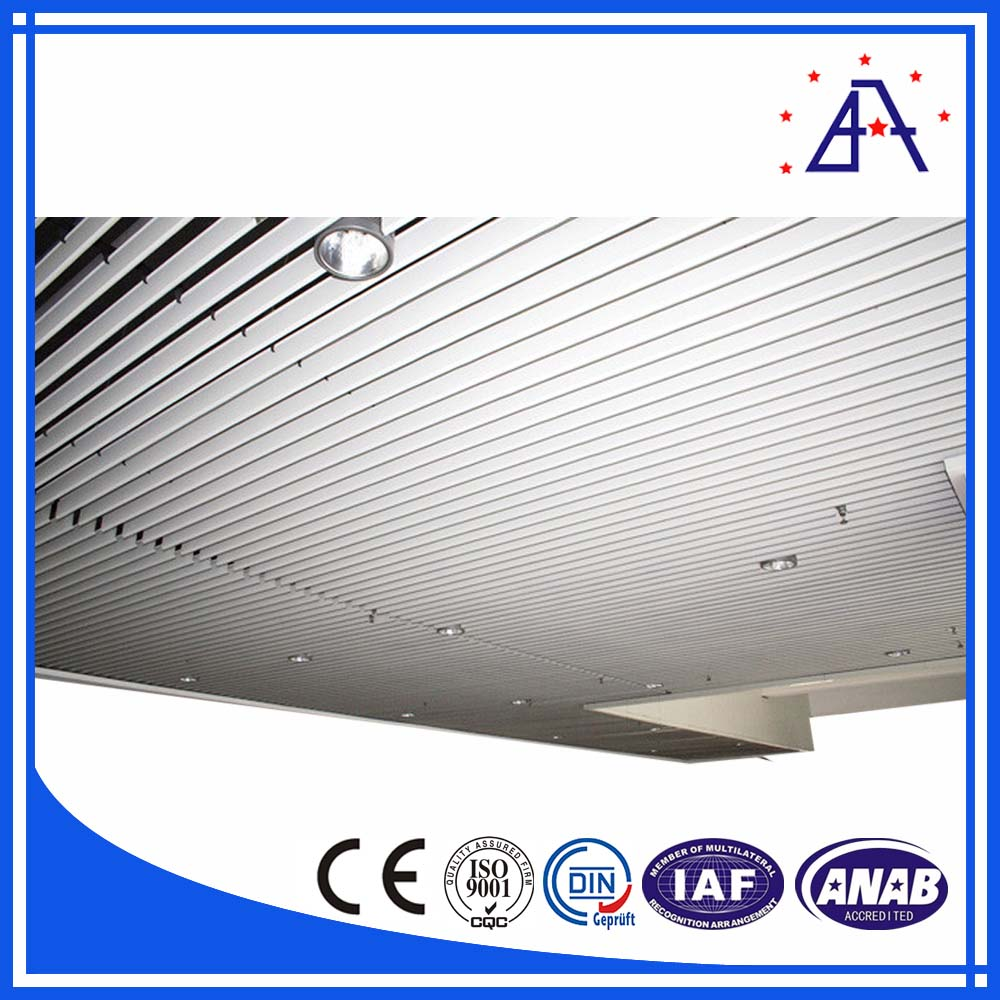 Aluminum Extrusion Profiles For Ceiling