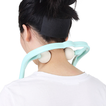 Best selling products handheld shoulder massager plastic neck massager