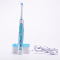 Dual Clean Inductive Charging Electric Toothbrush with Replacement Head