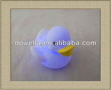 cute bath duck toy/ kids duck toy with led flashing