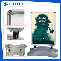 water base pavement sign,poster display stand