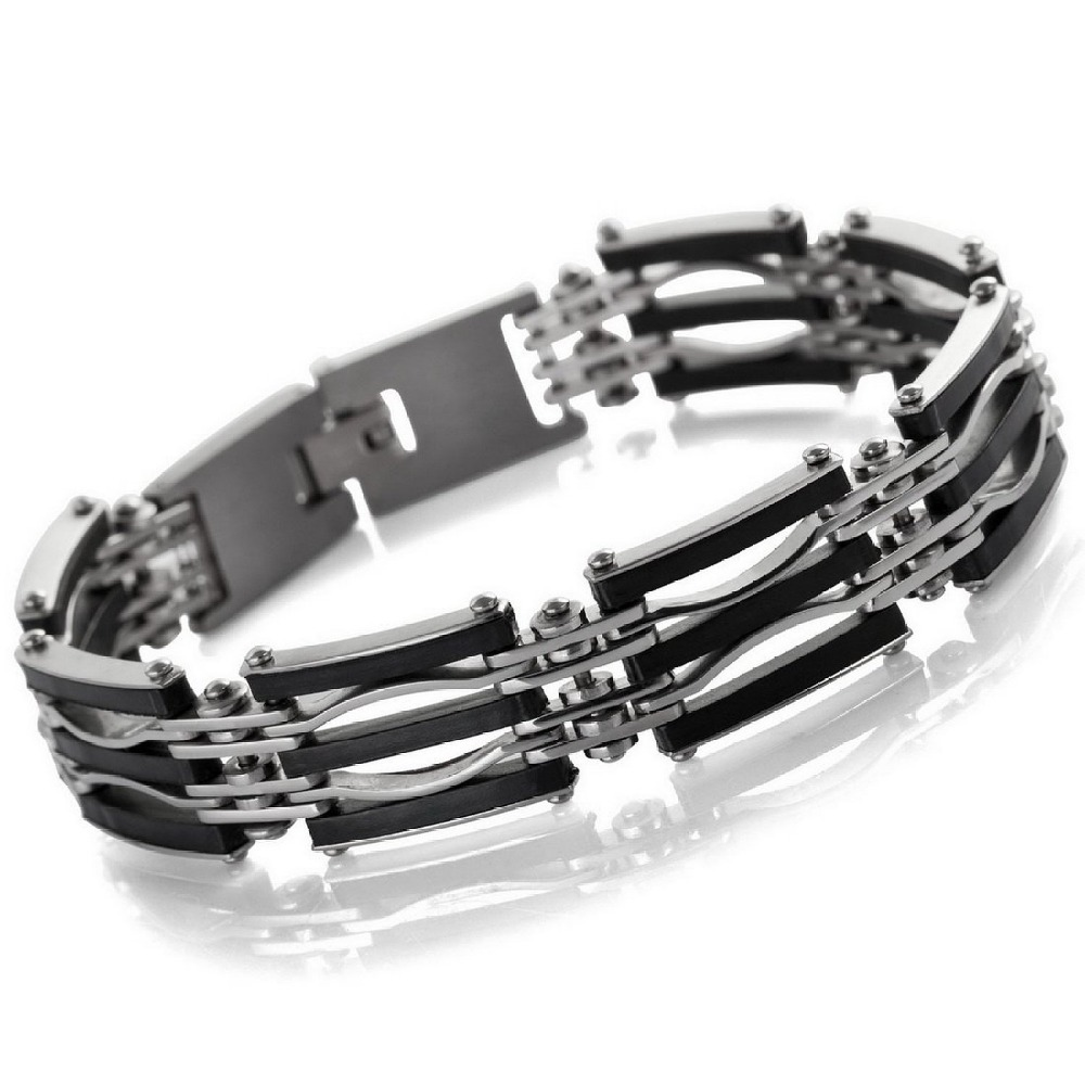 New Arrival Hot Sale Fashion Chic Gothic & All-Purpose Style Charming Bracelets Made By Stainless Steel With Length 9.29inch
