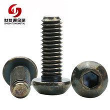 ISO 7380 Hexagon Socket Allen Button Cap Head Full Thread Carbon Steel Pan Head Socket Screw