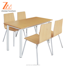 new style European dinning table chairs set for dining room furniture set