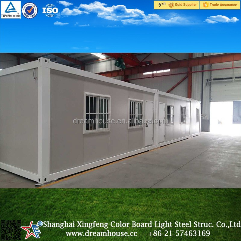 Flat pack mobile living container houses for sale/China manufacture foldable economical container homes