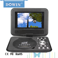 Factory price manufacture wholesale OEM nice 7 inch Mini PDVD Player Supporting MP3 USB TXT Region Free Portable DVD Player