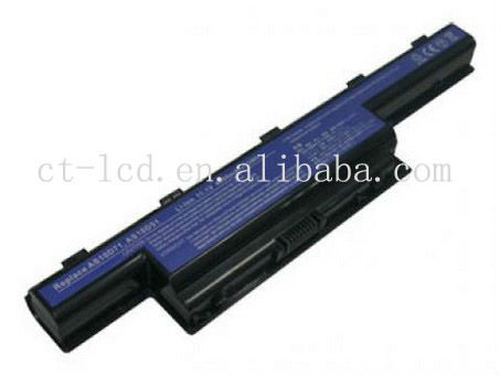 6 Cell Li-ion 11.1 4800mAh Replacement for AC Aspire 4741 Laptop Battery