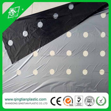 PE Material Perforated Silver&Black Mulch Film with UV Resistance