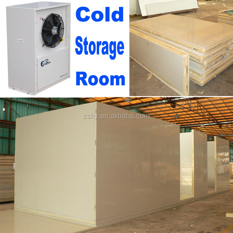 vegetable and fruits cold storage room in hotel