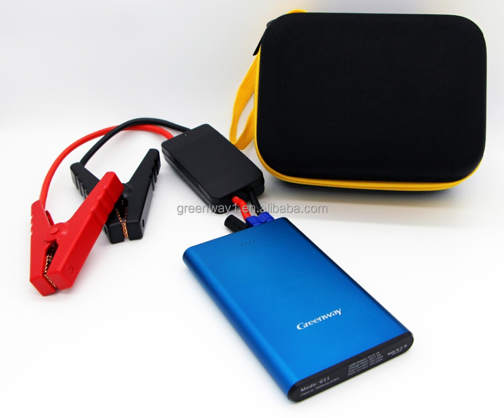 Car Jump Start Kit 7500mah Multi-function Car Jump Starter For 12v Vehicles