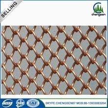 Decorative used expanded metal curtains cheap crimped wire mesh