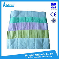 F5-F8 Non-woven fabric synthetic pocket air filter media