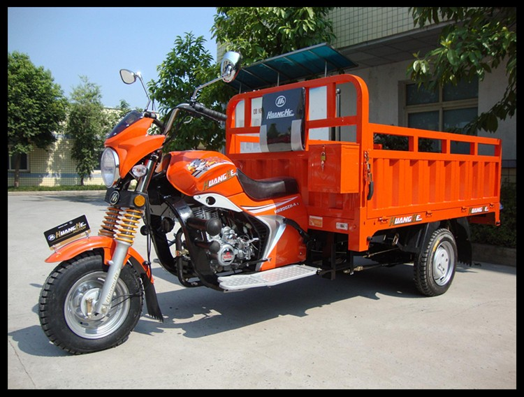 hot selling gasoline cargo use adult tricycle in China