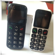 China OEM feature phone 1.77inch mobile phone with Big keyboard sos function cell phone