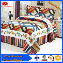 100%Cotton pigment Printed Bed Sheet set duvet cover luxury bedding set