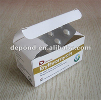 antibacterial drugs erythromycin tablet poultry medicine for pigeon use