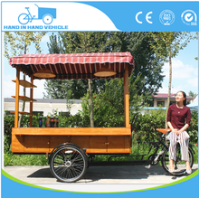 Distinctive new coffee tricycle electric cargo bike bike cafe mobile coffee cart for sale