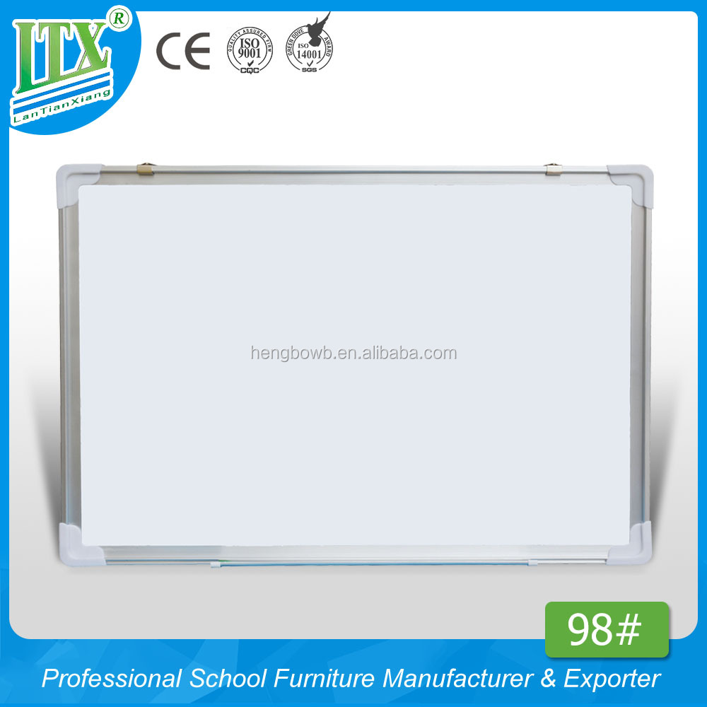 HB-98#white melamine board hot sale writing board classroom white board pencil