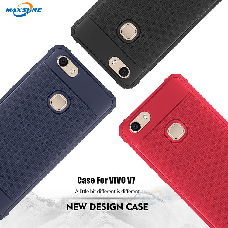 Maxshine Wholesale Cell Phone Case For Vivo V7 , Protective Shockproof Phone Case Cover For Vivo V7