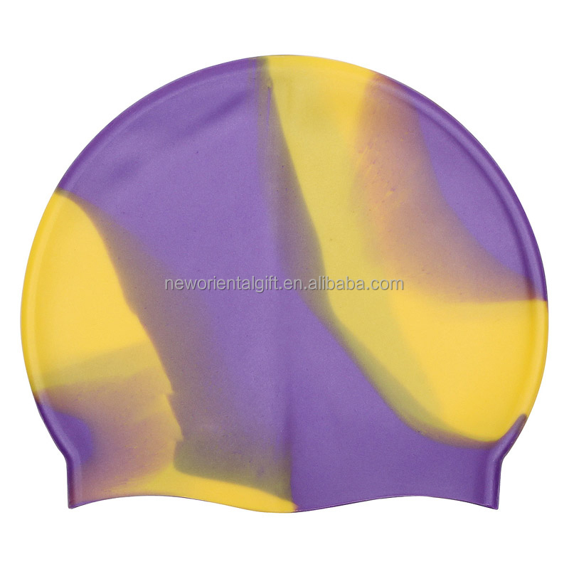 Completely Customized Fashion Blank Silicone Swimming Cap