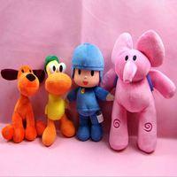 1pcs POCOYO Cartoon Stuffed Animals & Plush Toys Hobbies Loula & Elly & Pato & POCOYO Plush Toy Cute Soft Dolls