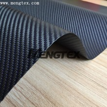 Carbon fiber blue silver twill leather Carbon Fiber Fabric