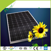 High efficiency A grade 72 cells mono pv solar panel