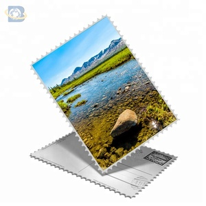 Free sample high quality 3d souvenir postcard , 3d greeting card