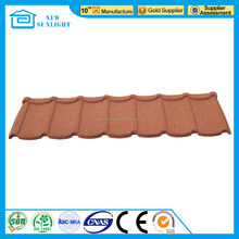 Sand Coated Steel Roofing Villa Steel roofing Sheet Metal Roof