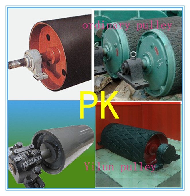 Conveyor Drum / Tail Pulley for stone plants conveyor system