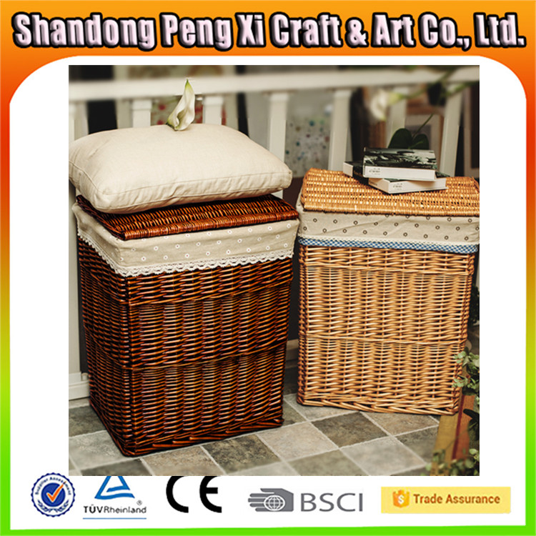 Large Wicker Laundry Baskets With Liner Large Wicker Laundry