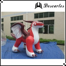 2016 hot sale inflatable water advertising dragon/inflatable zenith dragon for events