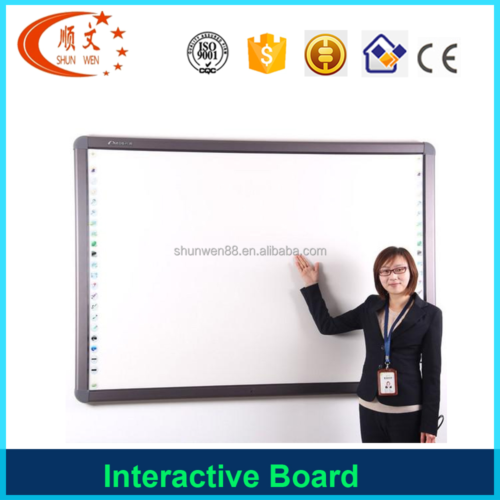 China Price of interactive whiteboard no projector iq / ip board promethean touch screen smart whiteboard