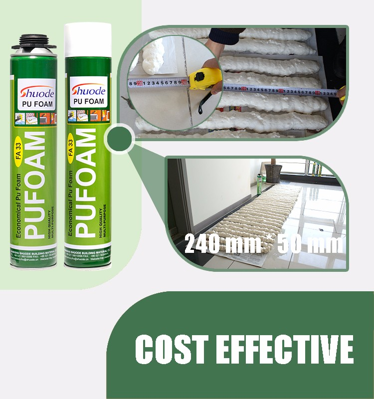 High Expansion Good Adhesive Strength Gap Sealant