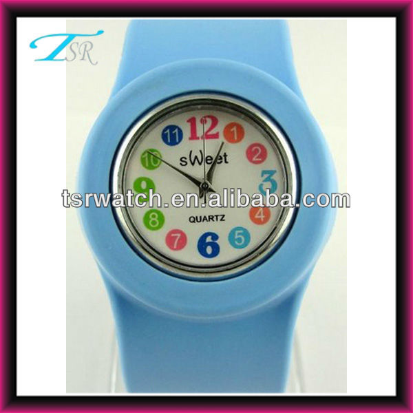2014 silicone band and various colors and anmals with picture face cool kids watches