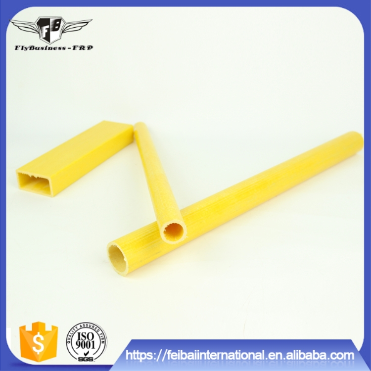 low price High Strength UV resistant durable pultruded fiberglass tubing