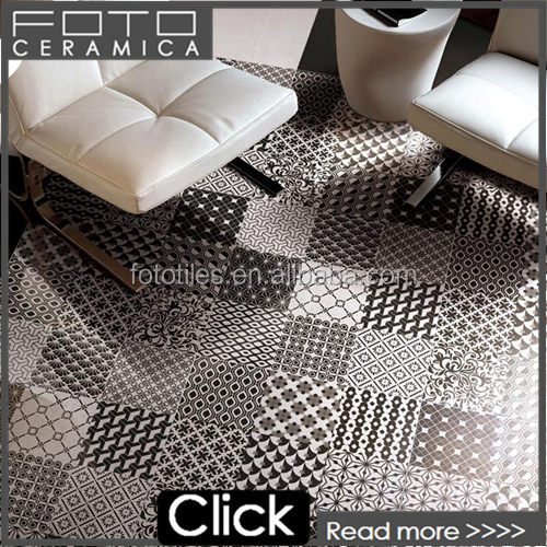 Stylish monochromatic plaid pattern names designs living room floor tile