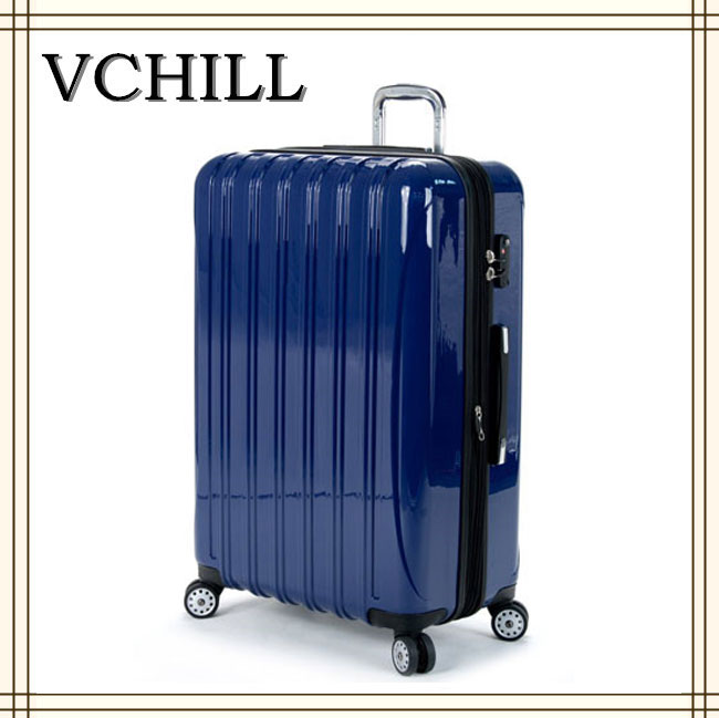 Lightweight carry on trolley polo luggage suitcase