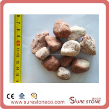 Granite pebble cobble stone for garden flooring for sale