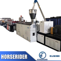 Top quality 1220mm width PVC WPC rigid foam board making machine/ plastic kitchen board extrusion production line