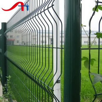 PVC coated/wire mesh fence/wire fence mesh(manufactory)