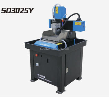 SUDA SMALL MINI CNC ROUTER MACHINE SD3025Y FOR METAL