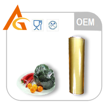 soft clear pvc cling film for food