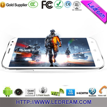 Newest 5.0 inch HD display android 4.2 mtk6599 cell phone