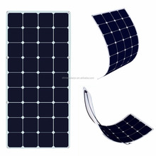 100 Watt 12V Bendable Flexible Solar Panel Battery Charger Power Sunpower Cells for RV Boat Cabin