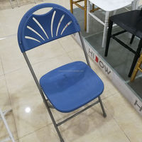 wholesale fashion mental steel folding chair