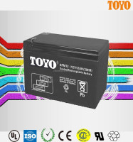 VRLA maintenance free AGM 12V 12AH lead acid battery for Alarm/Security system