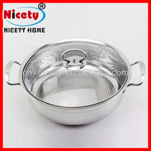 Metal Stainless Steel Insulated Thermos Casserole Hot Pot