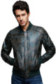 Camouflage Bomber Flight Jacket Genuine Leather Jackets