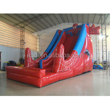 Inflatable Slide Spider Man/inflatable water slid for boys cheap inflatable water slides for sale